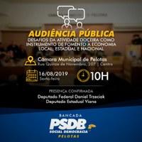 Bancada do PSDB promove audiência pública sobre atividade doceira