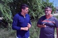 Jone Soares encaminha pedidos de providências para o Getúlio Vargas
